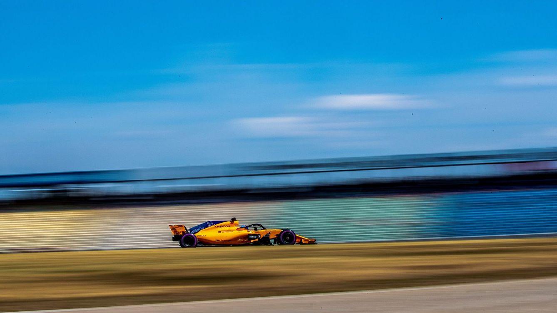 Foto: Alonso en los libres del GP de Alemania. (EFE)