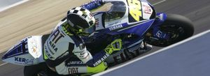 Rossi domina a los españoles en Jerez