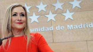 Cifuentes hizo un máster en la universidad de Puigdemont