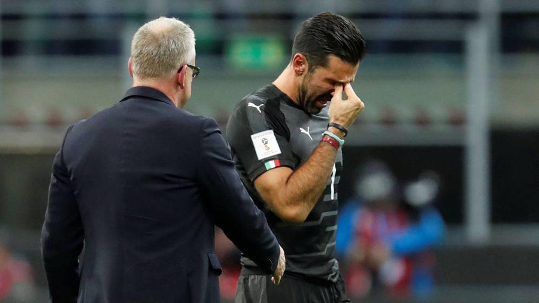 Buffon, derrotado tras quedar Italia eliminada del Mundial   Reuters