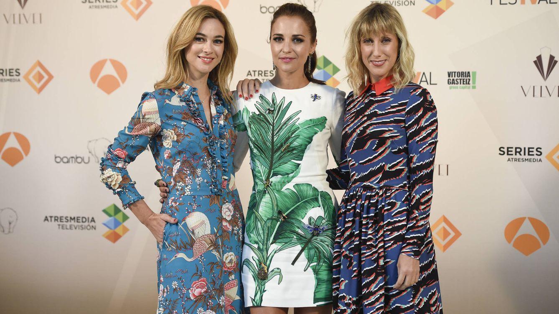 Paula Echevarría, Cecilia Freire y Marta Hazas, desoladas por el final de 'Velvet'