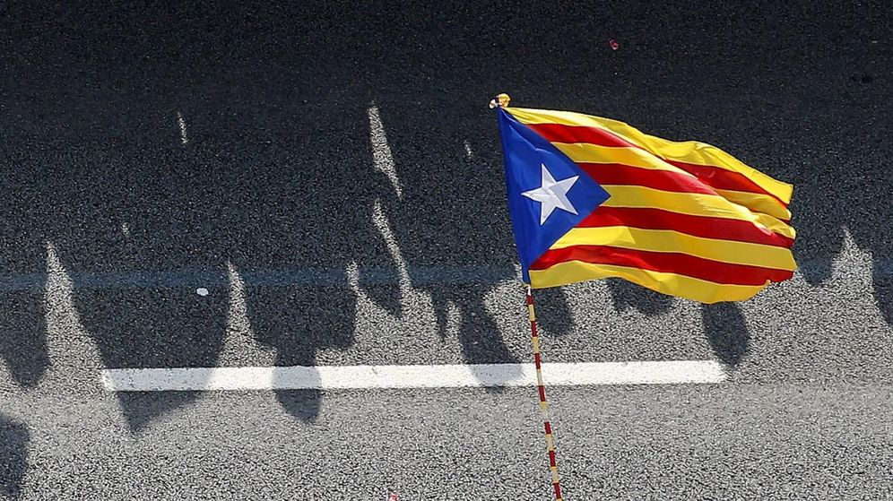 Foto: Una bandera independentista. (Reuters)