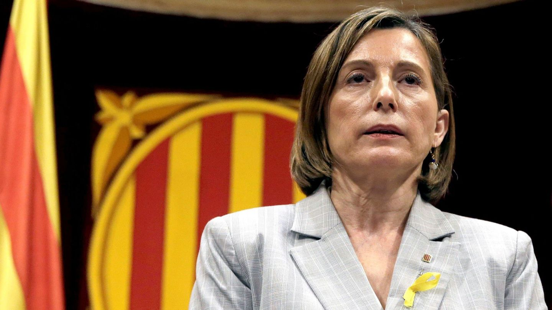 La presidenta de la Mesa del Parlament de Cataluña, Carme Forcadell. (EFE)