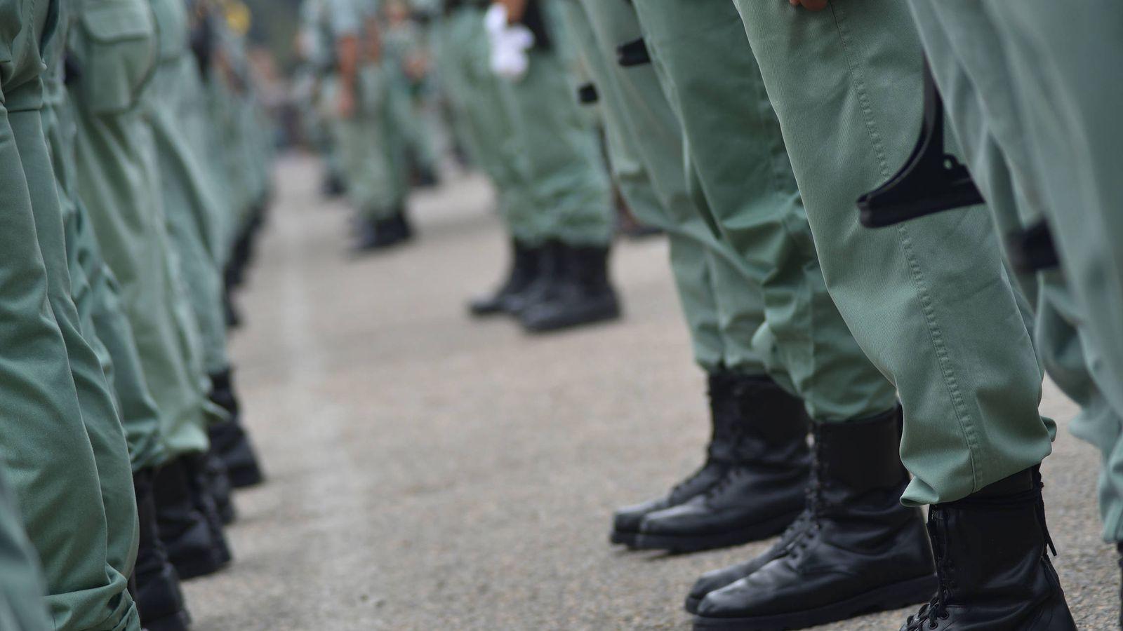 Foto: Zapatos legionarios. (Agustín Rivera)
