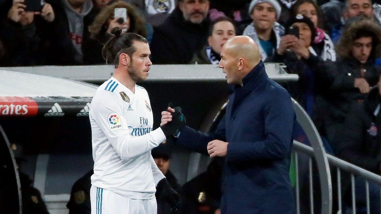 Zidane había afirmado que la BBC era intocable, pero ante el PSG dejó a Bale en el banquillo. (EFE)