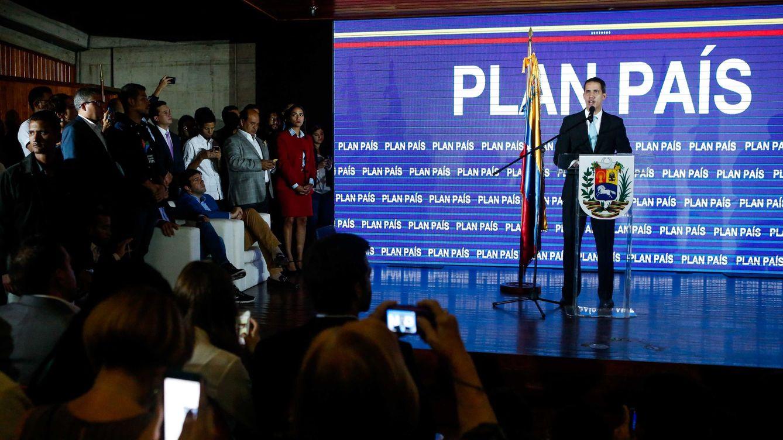 """Qué es el 'Plan País': el proyecto de Guaidó para """"el Estado fallido que es Venezuela"""""""