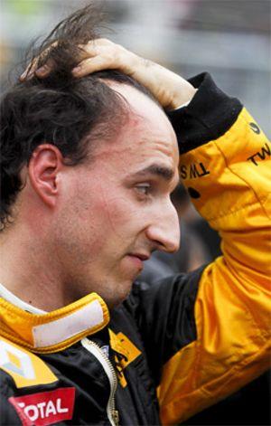 Kubica vuelve a romperse la pierna operada tras su brutal accidente