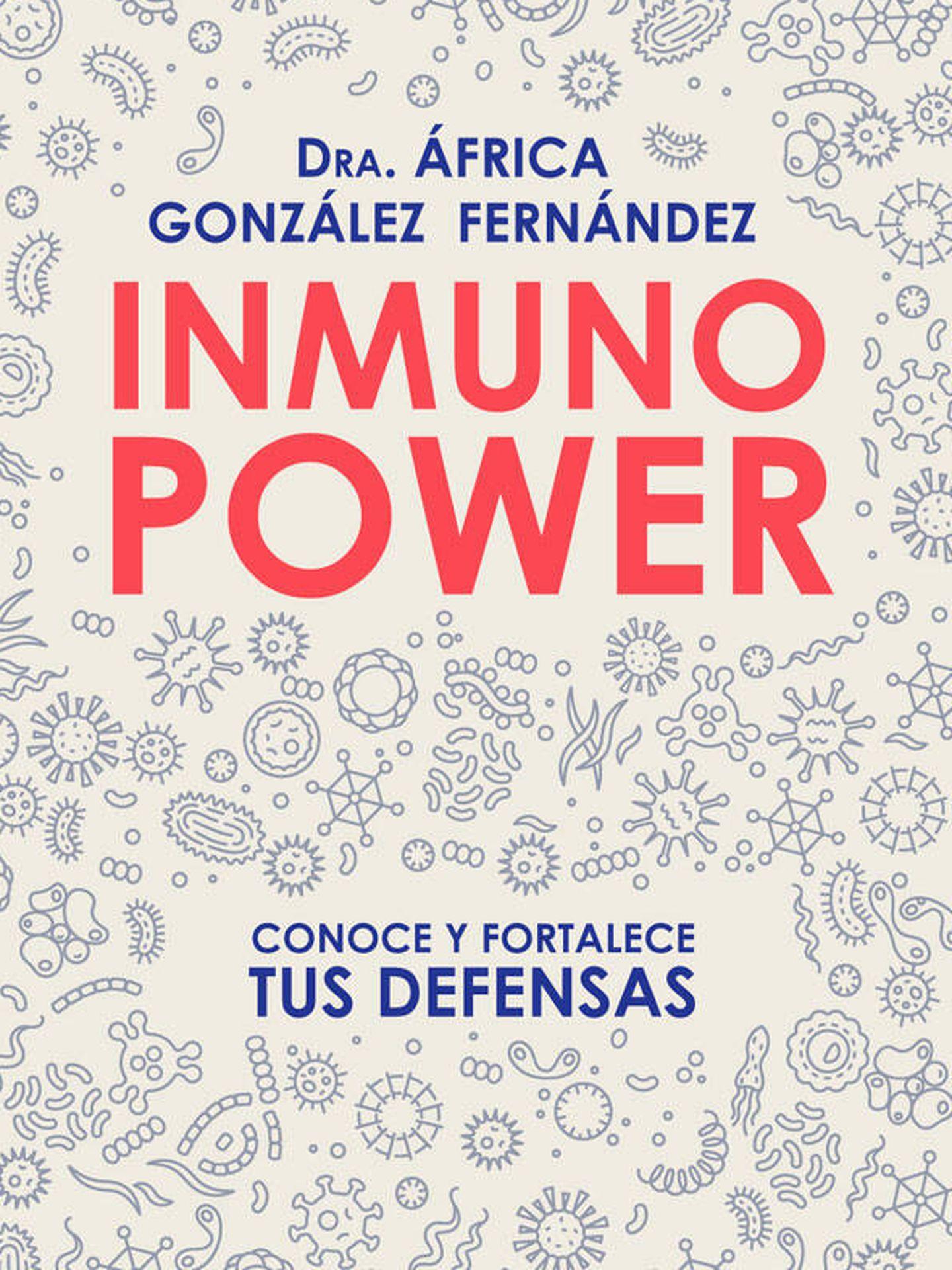 Portada del libro escrito por la doctora África González.