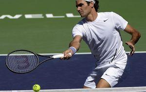 Así vivimos las 'semis' de Indian Wells entre Dolgopolov y Federer