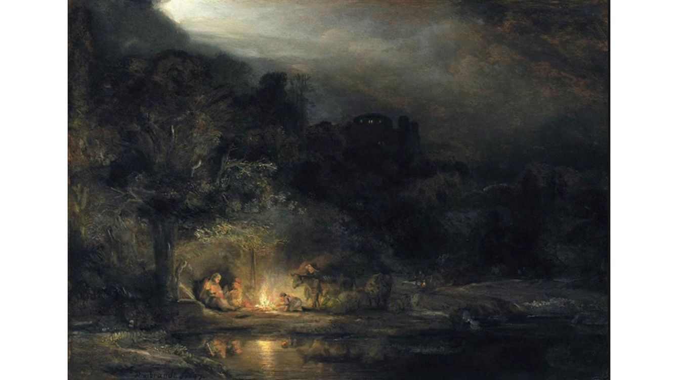 Foto: 'Landscape with the rest on the flight into Egypt' (1647).