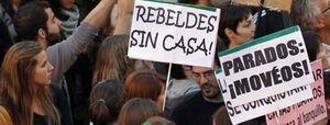 """El movimiento 15-M se crece ante la Junta Central: """"De la Puerta del Sol no nos moverán"""""""