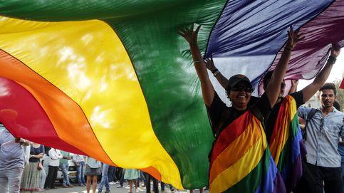 Marcha de la independencia de 'Queer Azaadi' en Bombay