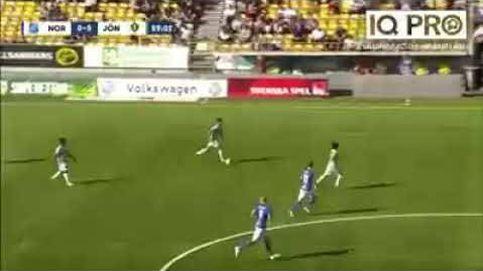 El golazo del año en Suecia... en Segunda Divisón