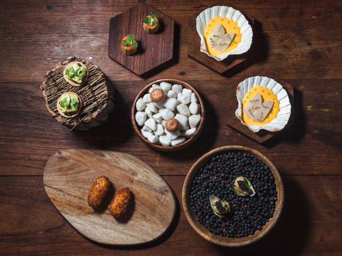 Foto: Los snacks de Santerra.