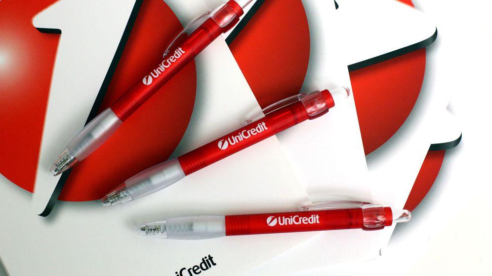Foto: Logos de Unicredit. (Reuters)