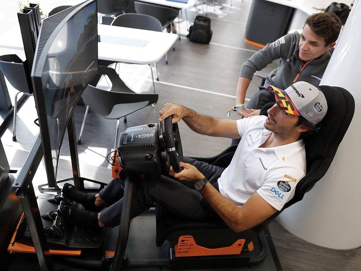 Foto: Un fin de semana diferente en la Fórmula 1. (McLaren)