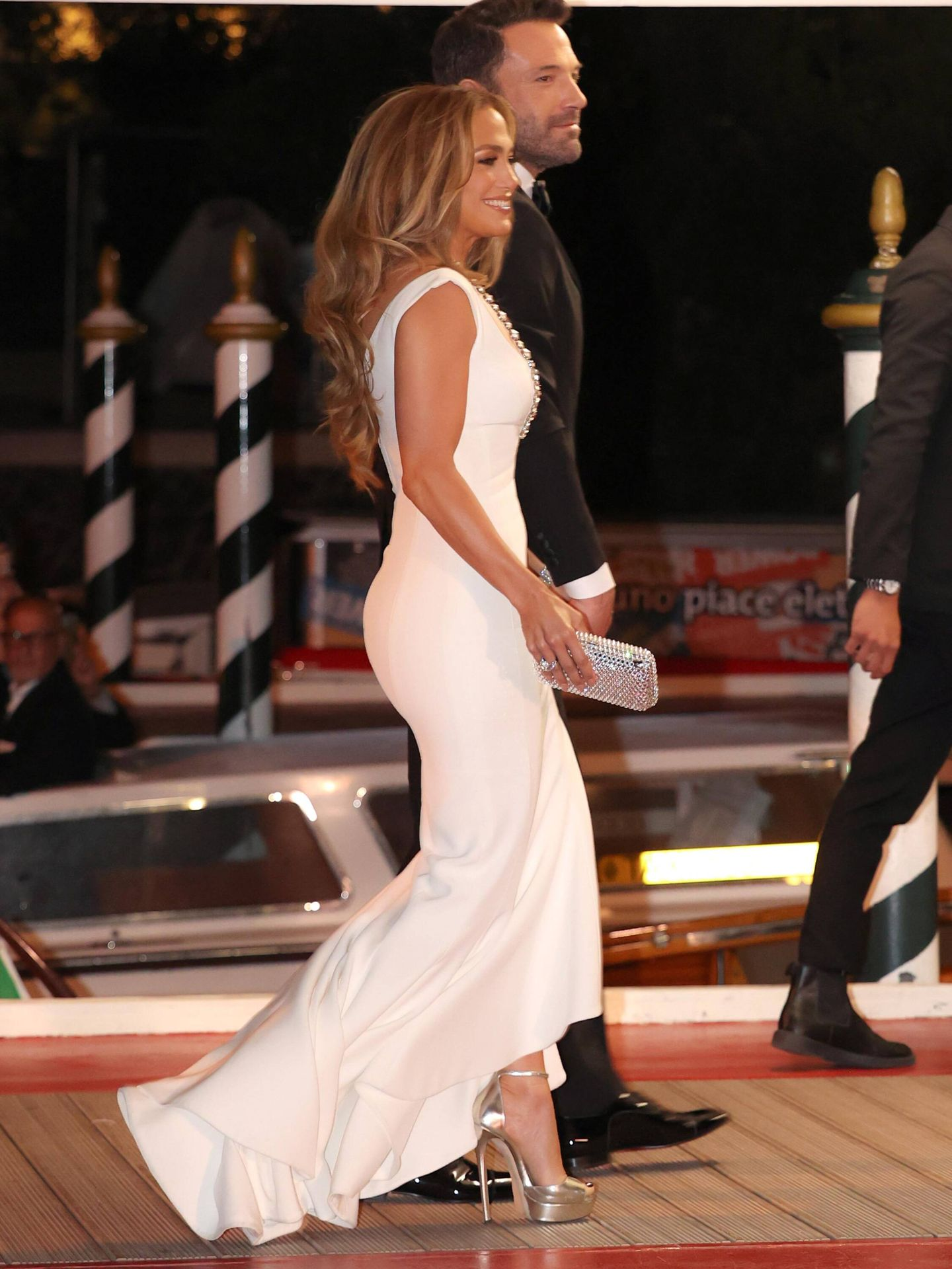 Jennifer Lopez y Ben Affleck. (Getty)