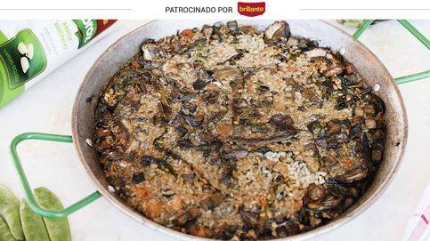 Arroz de la huerta en costra: un plato delicioso para lucirte en la mesa