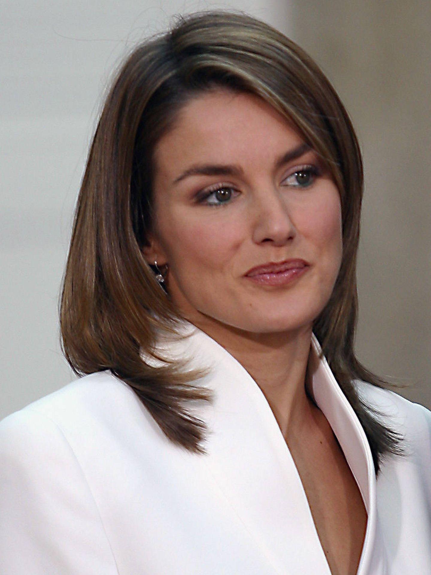 Letizia Ortiz, en 2003. (Getty)