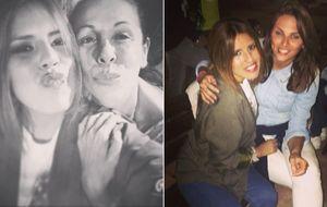 El 'selfie' que reconcilió públicamente a Isabel Pantoja madre e Isabel Pantoja hija