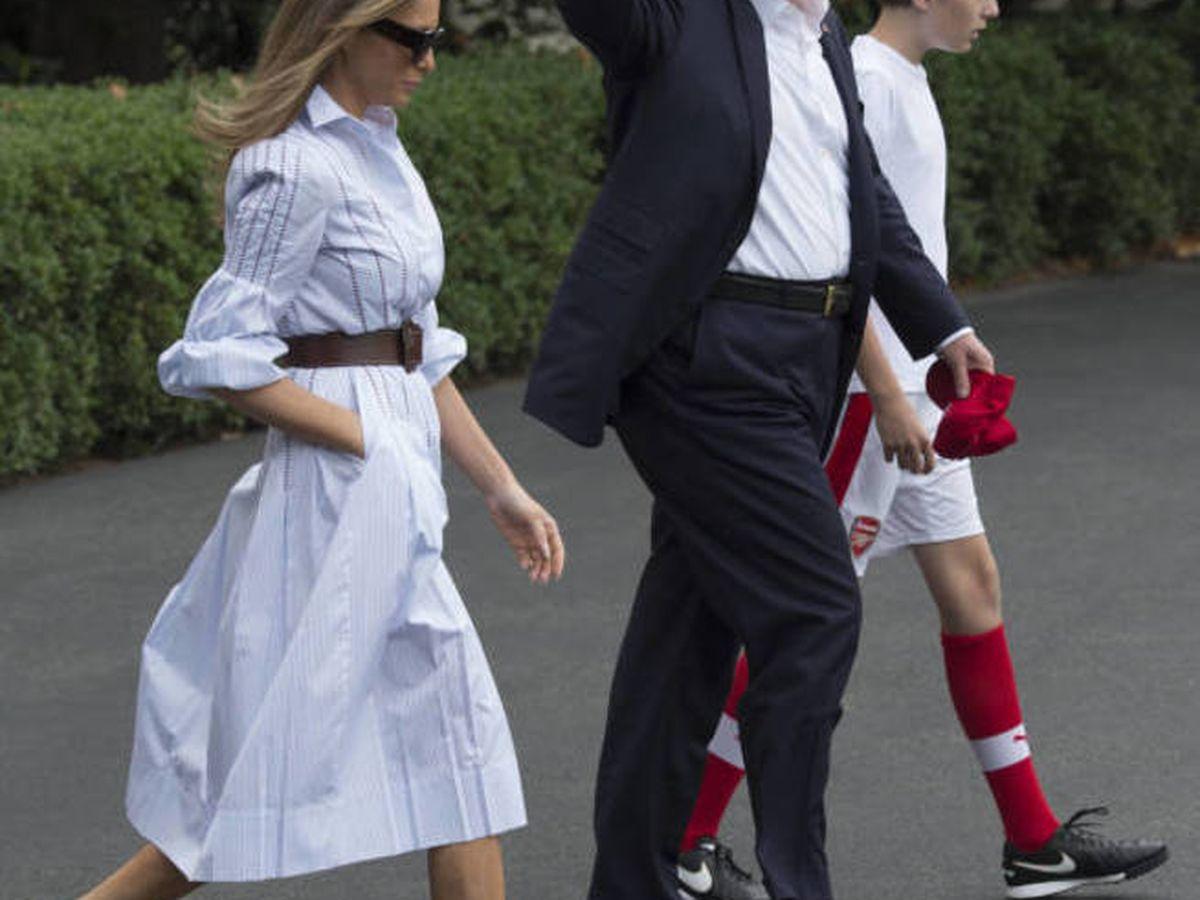 Foto: Melania y Donald Trump. (Getty)