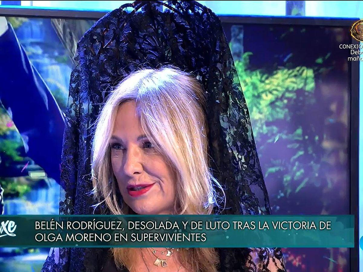 Foto: Belén Rodríguez, en 'Deluxe'. (Mediaset)
