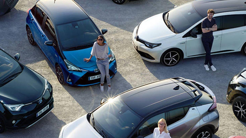 Toda la gama híbrida de Toyota está disponible con este nuevo servicio Toyota Ocasión.