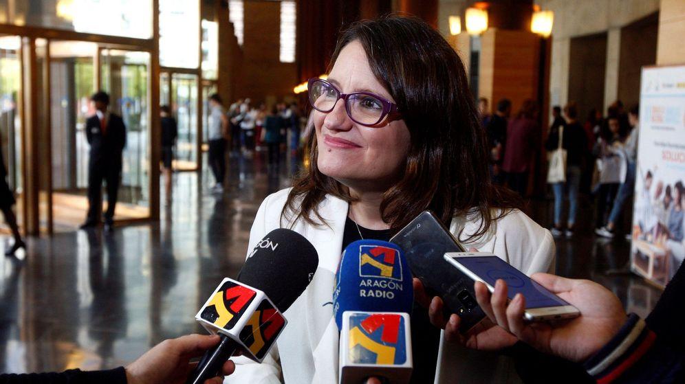 Foto: La vicepresidenta de la Generalitat, Mónica Oltra. (EFE)
