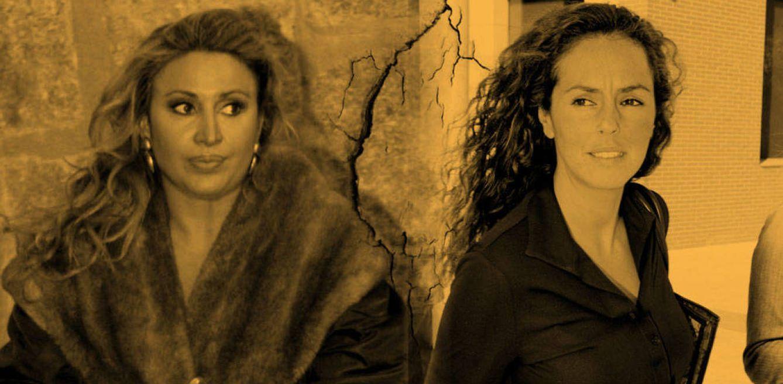 Foto: Raquel Mosquera y Rocío Carrasco en un fotomontaje de Vanitatis