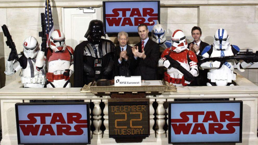 Star Wars invade Wall Street