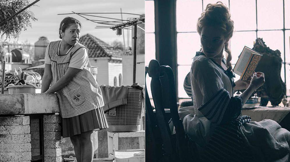 Foto: 'Roma' y 'La favorita', principales contrincantes en los Oscar. (Netflix/Universal)
