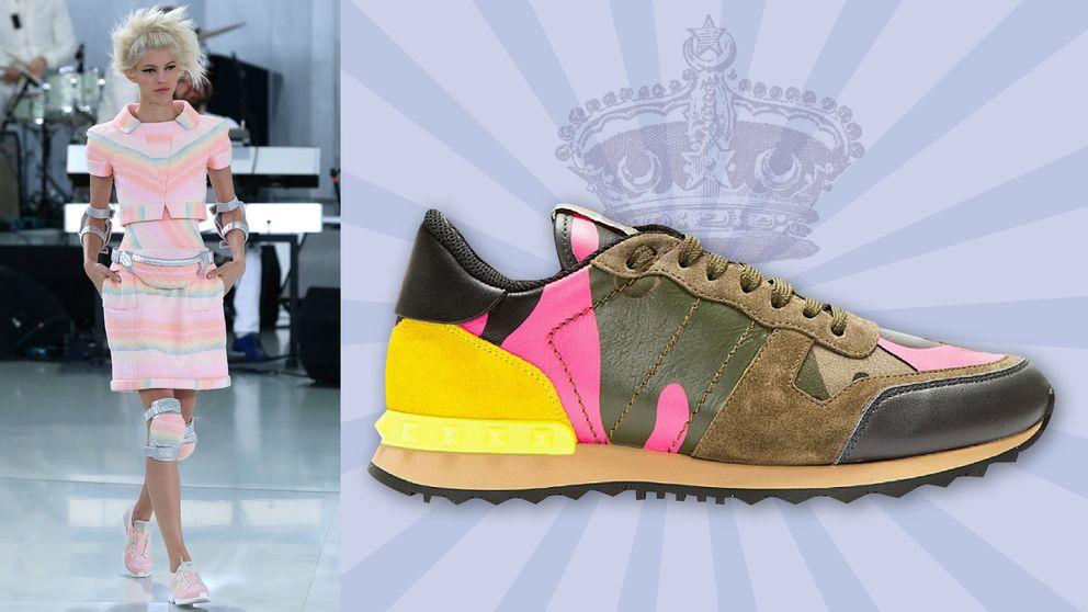 Las zapatillas ya son, oficialmente, los nuevos stilettos
