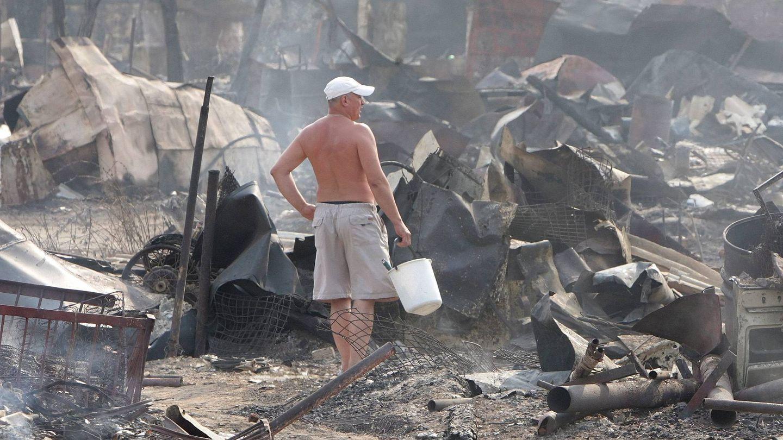 Graves incendios en Rusia durante la ola de calor (EFE)
