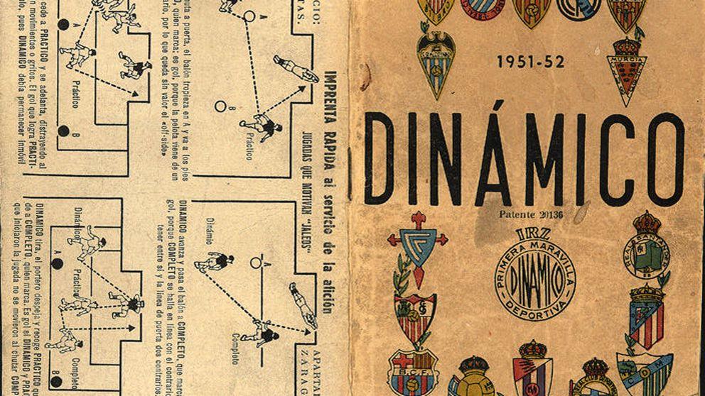 Este calendario de bolsillo era la Biblia del fútbol en España antes de internet