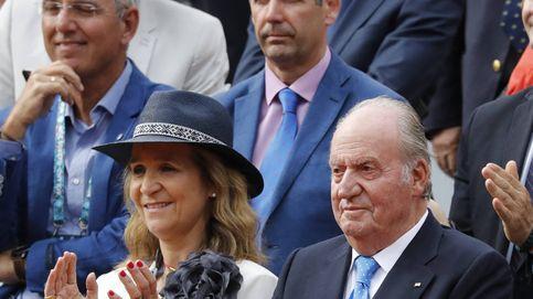 La infanta Elena espera recibir a don Juan Carlos esta Navidad, según Carlos Herrera