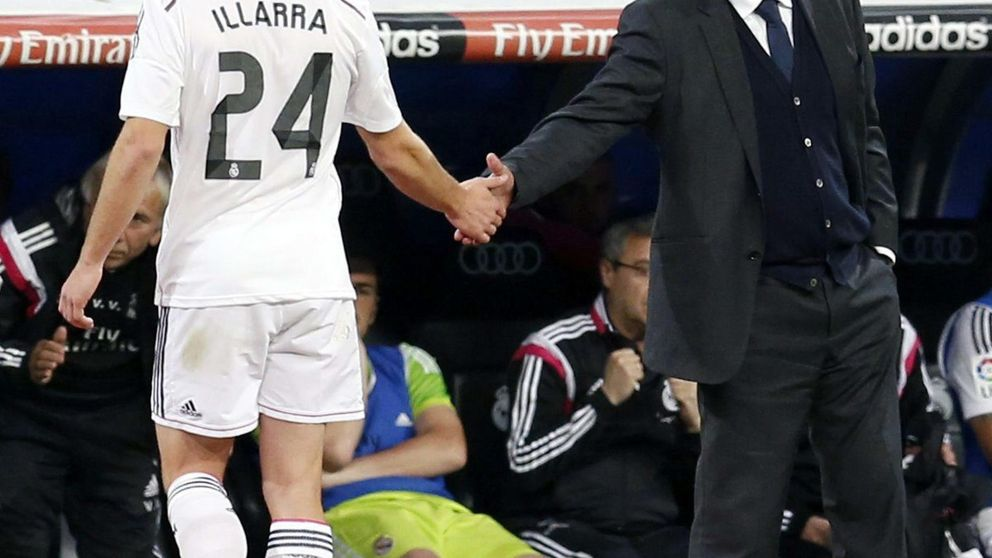 Benítez dice a Illarra que cuenta con él, pero la paciencia del Madrid se agota