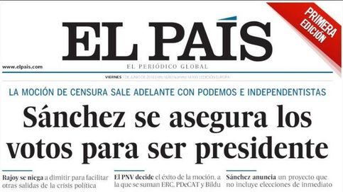 Moción de censura | La (posible) caída de Rajoy, en las portadas de los periódicos