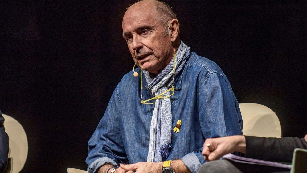 Foto: Conferencia de Lluís Llach organizada por la ANC en Euskadi. (EFE)