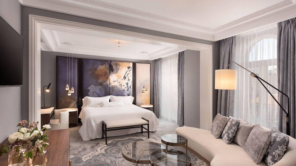 Foto:  Interior de la suite del hotel Palace. (Cortesía)
