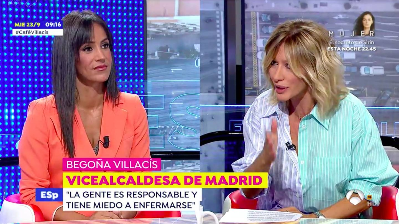 Begoña Villacís, en 'Espejo público'. (Atresmedia)