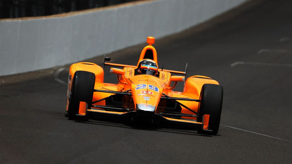 Foto: Fernando Alonso, en el circuito de Indianápolis. (Reuters)
