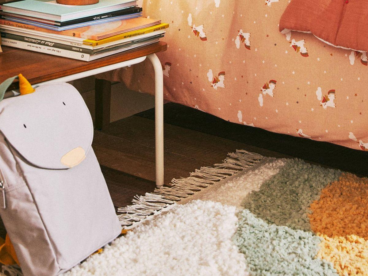 Foto: Alfombras para dormitorios infantiles en Zara Home. (Cortesía)