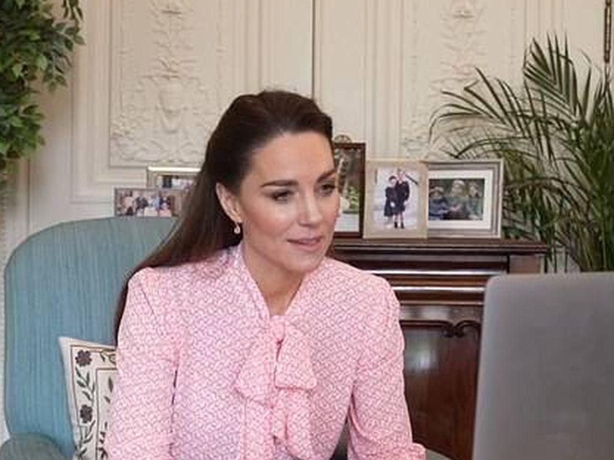 Foto: Kate Middleton reaparece tras la polémica entrevista de sus cuñados. (Cortesía)