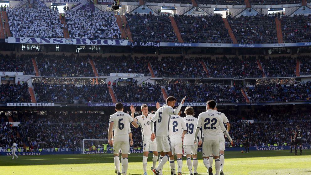 El camino del Madrid al título en seis gráficos