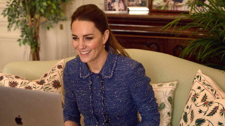 Kate Middleton, este jueves. (Palacio de Kensington)