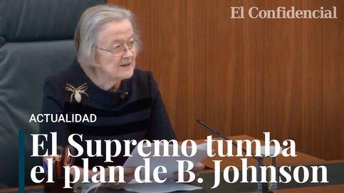 La Justicia declara ilegal la suspensión del Parlamento orquestada por Johnson