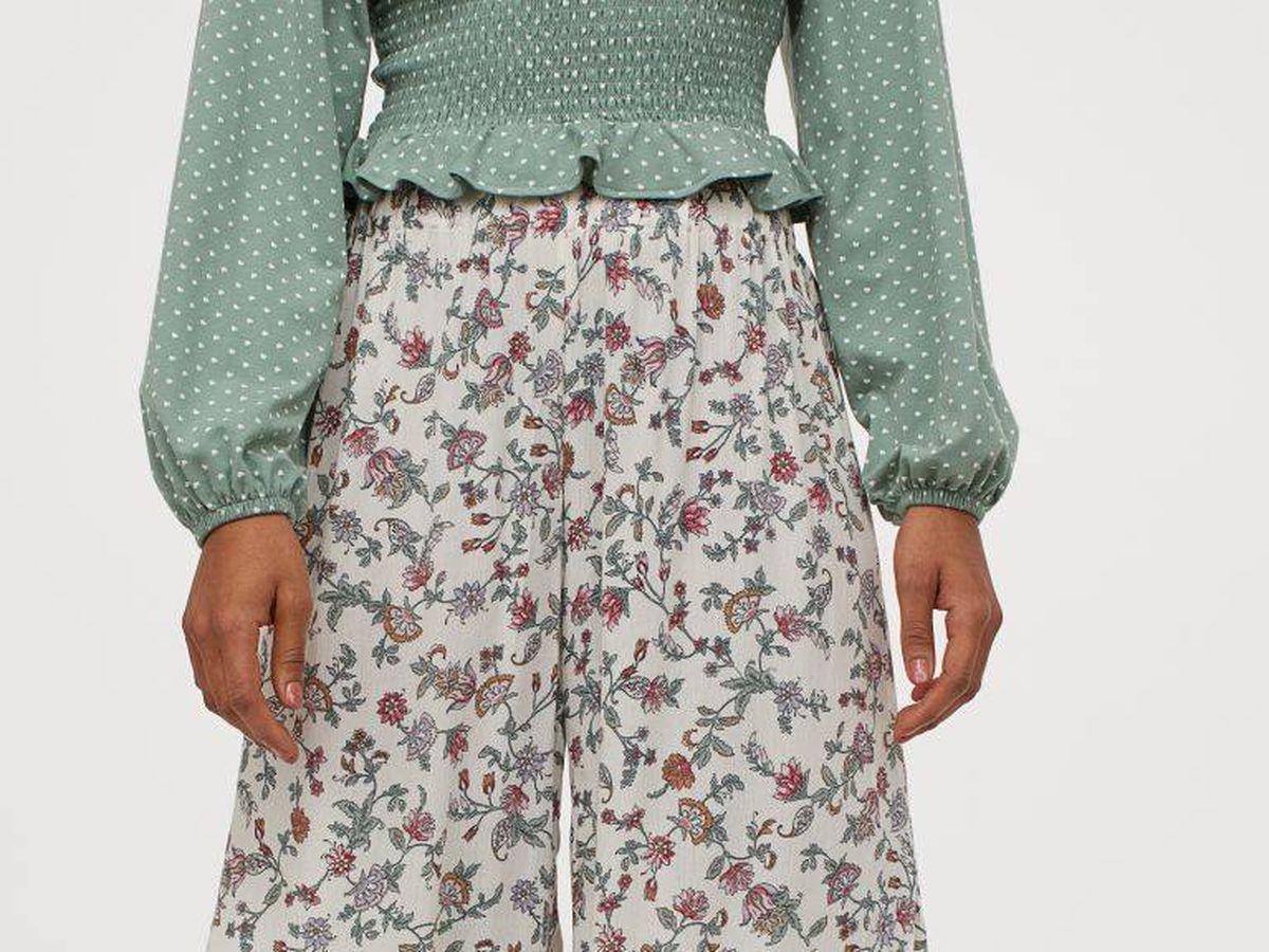 Foto: Echa un vistazo a la nueva falda pantalón de HyM. (Cortesía)