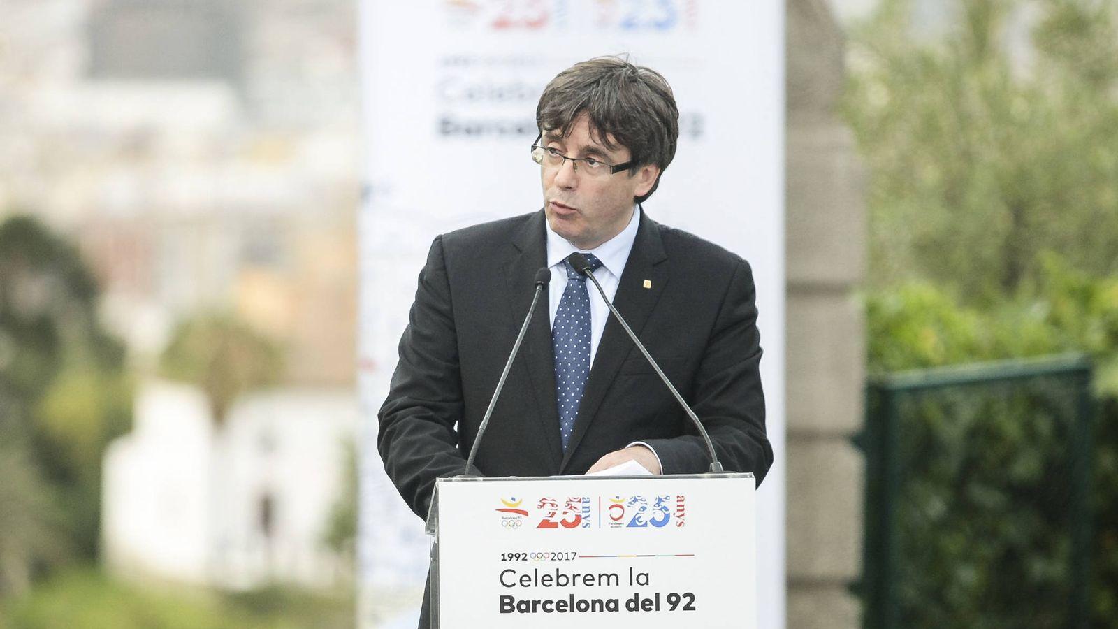 Foto: Puigdemont, acusado de ser un terrorista por parte de la televisión mexicano. (Gtres)