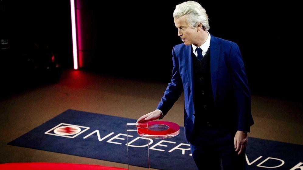 Foto: El candidato del ultraderechista Partido por la Libertad, Geert Wilders. (EFE)