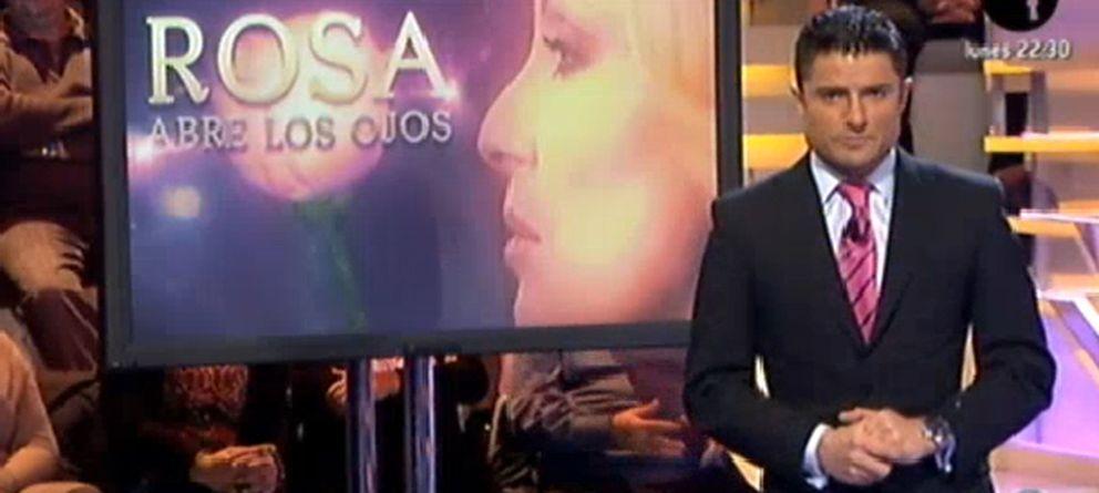 Alfonso Merlos se estrena como copresentador de 'Abre los ojos' con Rosa Benito